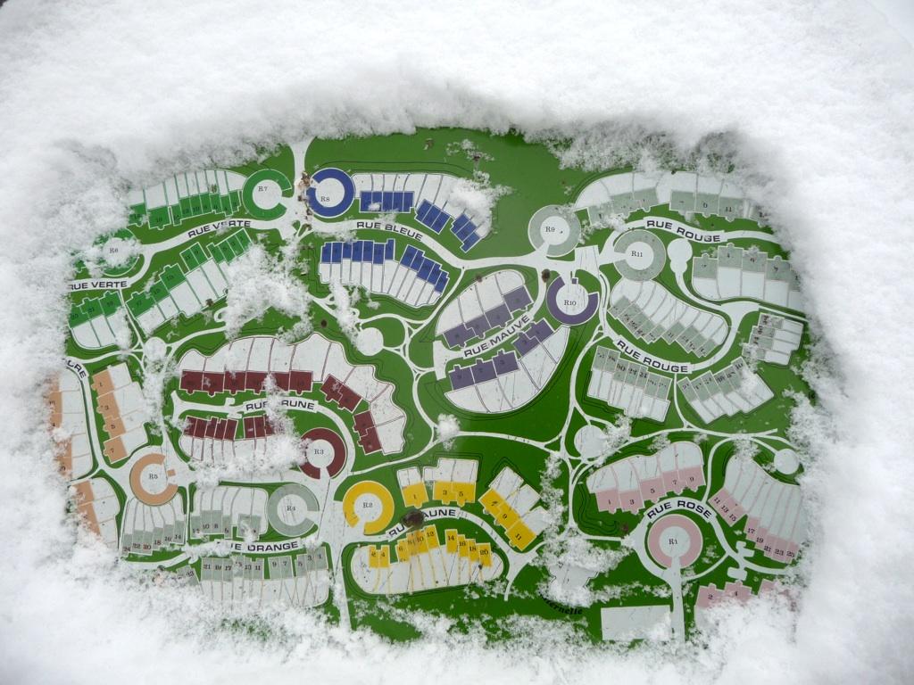 le plan sous la neige